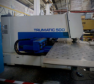 Production Line Robot Trumpf Trumatic